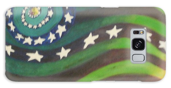 American Flag Reprise Galaxy Case