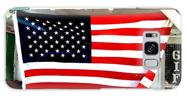 American Flag Route 66 Galaxy Case by Dany Lison