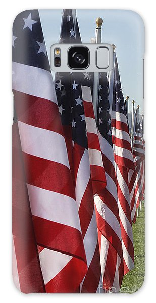 American Flags Galaxy Case
