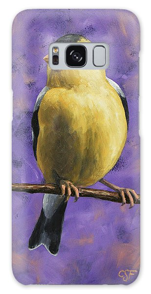 Finch Galaxy S8 Case - American Goldfinch by Crista Forest