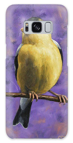 Song Bird Galaxy Case - American Goldfinch by Crista Forest