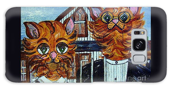 American Gothic Cats - A Parody Galaxy Case