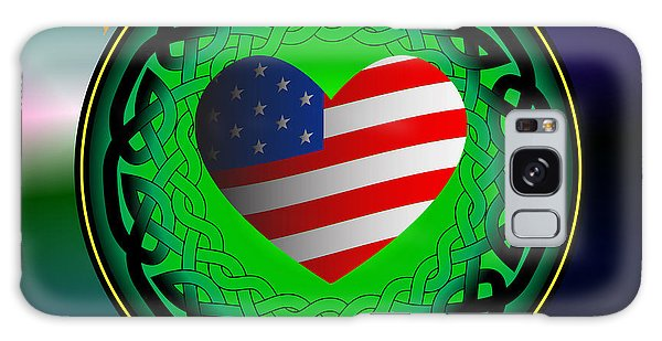 American Heart Irish Blood Galaxy Case