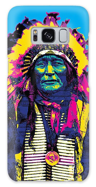 American Indian Chief Galaxy Case