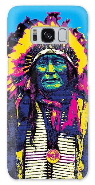 American Indian Chief Galaxy Case