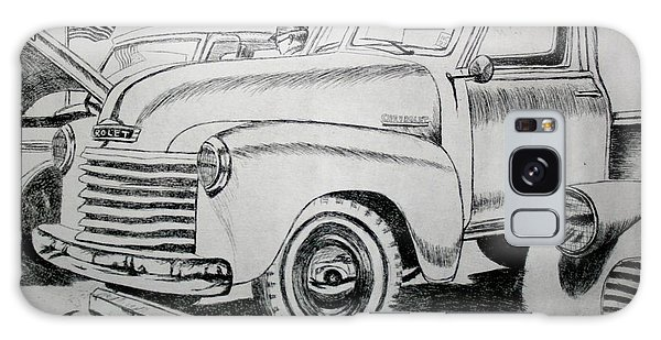 Old Truck Galaxy Case - American Made by Stacy C Bottoms