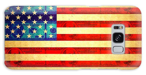 American Money Flag Galaxy Case