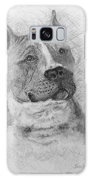 American Staffordshire Terrier Galaxy Case by Jim Hubbard