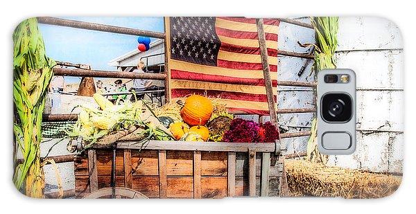 Americana Farm Scene Galaxy Case by Eleanor Abramson