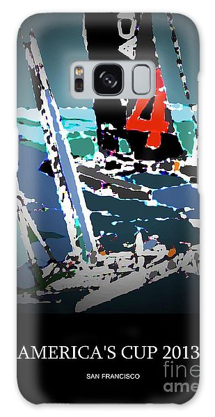America's Cup 2013 Poster Galaxy Case