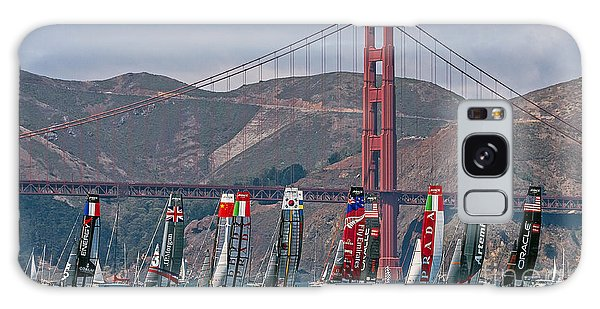 Americas Cup Catamarans At The Golden Gate Galaxy Case