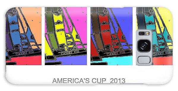 America's Cup Poster 3 Galaxy Case