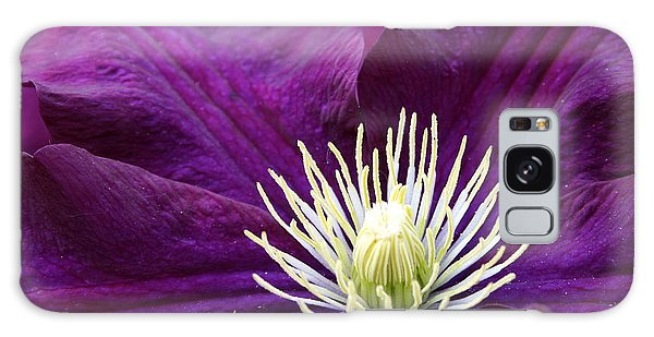 Amethyst Colored Clematis Galaxy Case