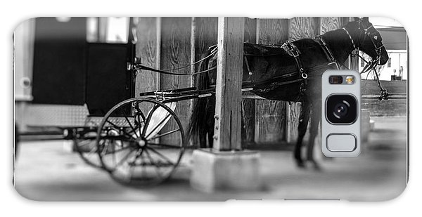 Amish Buggy Parking Galaxy Case