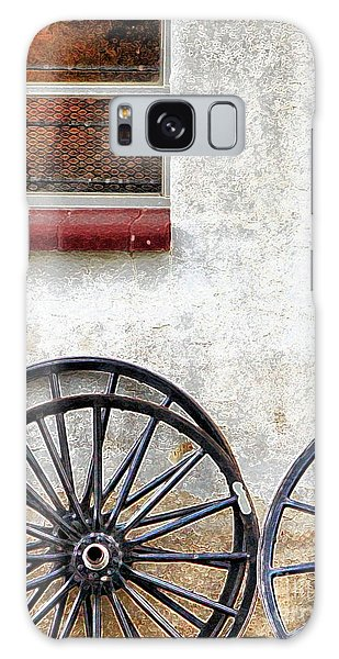 Amish Buggy Wheels Galaxy Case