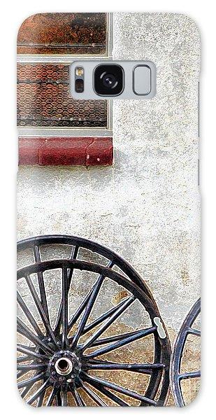 Amish Buggy Wheels Galaxy Case