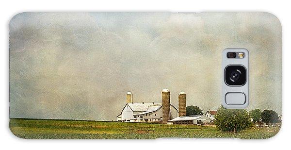 Amish Farmland Galaxy Case