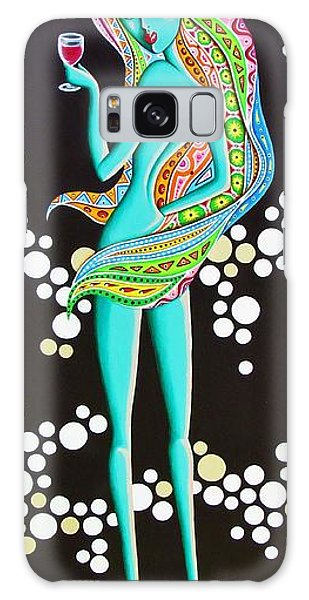 Amitty Groovy Chick Series Galaxy Case by Joseph Sonday