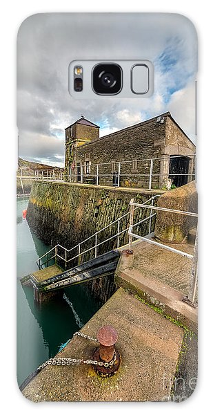 Rusty Chain Galaxy Case - Amlwch Port Lighthouse by Adrian Evans