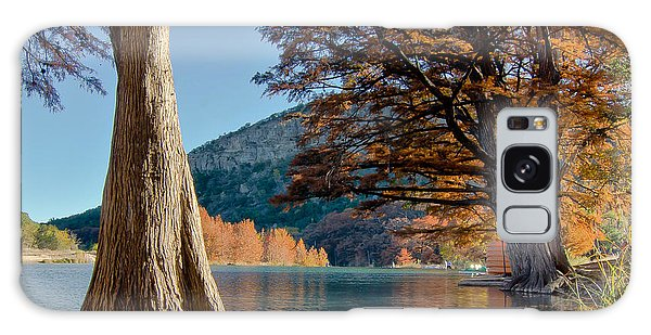 Among The Cypress Trees Galaxy Case