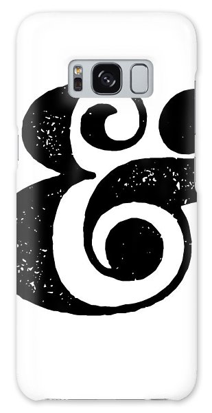 Motivational Galaxy Case - Ampersand Poster White by Naxart Studio