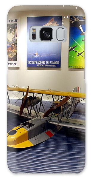 Amphibious Plane And Era Posters Galaxy Case
