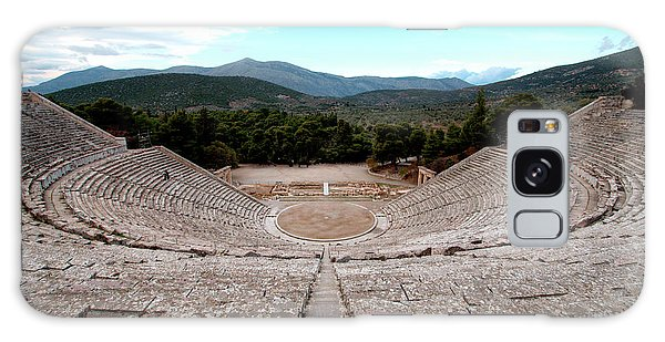 Amphitheatre At Epidaurus 2 Galaxy Case