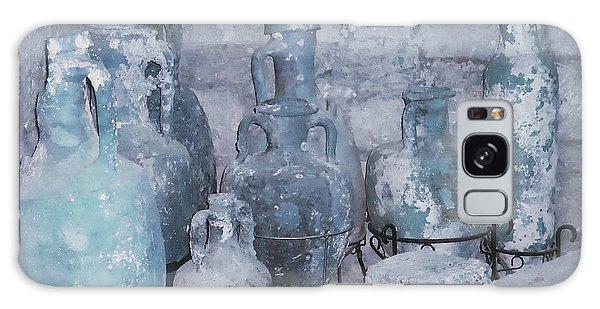 Amphora In Blue Galaxy Case