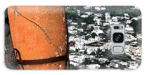 Amphora On Island Of Capri 1 Galaxy Case