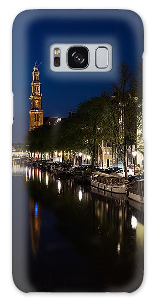 Amsterdam Blue Hour Galaxy Case