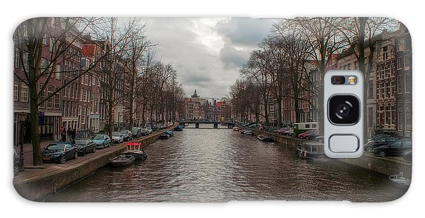 Amsterdam Canals Galaxy Case