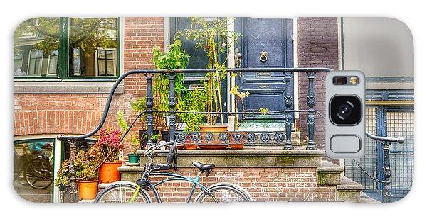 Amsterdam Facade Galaxy Case