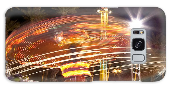 Amusement Park Ride Swirls  Galaxy Case