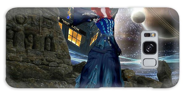 Amy And The Tardis Galaxy Case