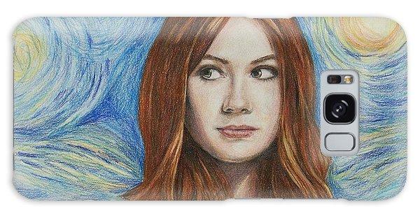 Amy Pond / Karen Gillan Galaxy Case