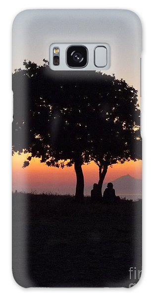 An African Sunset Galaxy Case by Vicki Spindler