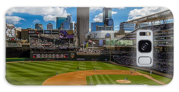 An Afternoon At Target Field Galaxy Case by Tom Gort