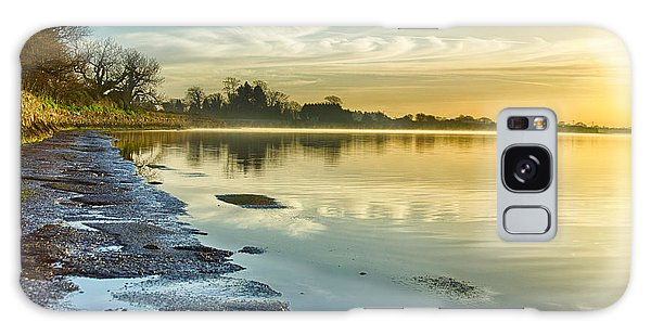 An April Morning On The Estuary  Galaxy Case by Martina Fagan