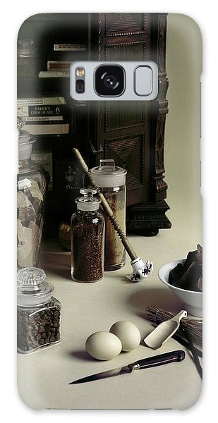 An Assortment Of Chocolate In Glass Jars Galaxy Case