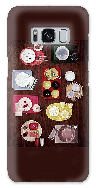 An Assortment Of Dinnerware Galaxy Case