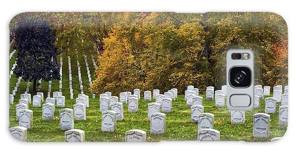 An Autumn Day In Arlington Galaxy Case