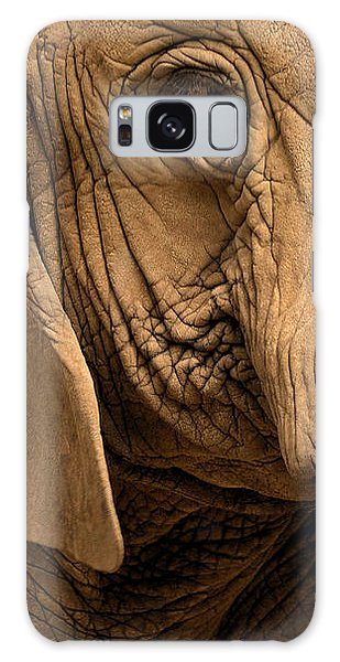 An Elephant's Eye Galaxy Case by Nadalyn Larsen