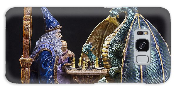 Dungeon Galaxy Case - An Epic Chess Match by Bill Tiepelman
