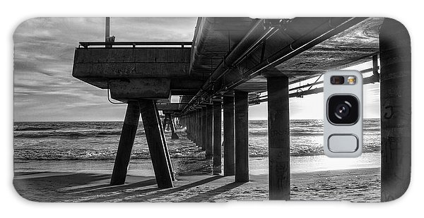 An Evening At Venice Beach Pier Galaxy Case by Ana V Ramirez