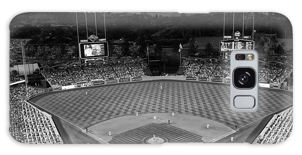 An Evening Game At Dodger Stadium Galaxy Case