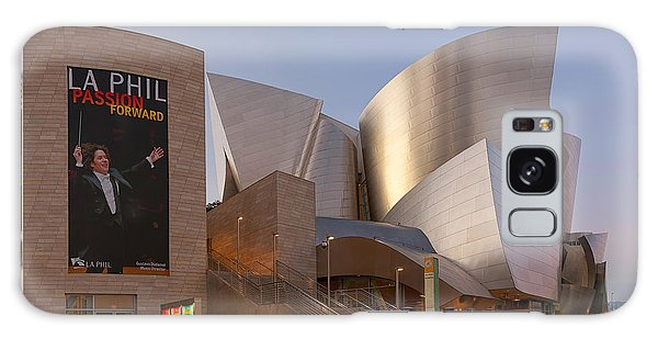 Galaxy Case featuring the photograph An Evening With Gustavo - Walt Disney Concert Hall Architecture Los Angeles by Ram Vasudev