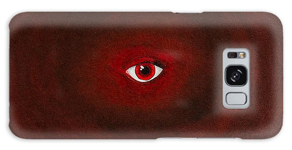 An Eye Is Upon You Galaxy Case