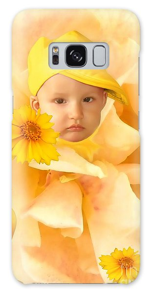 An Image Of A Photograph Of Your Child. - 09 Galaxy Case