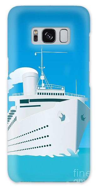 Speed Galaxy Case - An Image Of A White Cruise Ship And The by Markus Gann