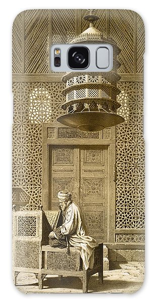 Islam Galaxy Case - An Imam Reading The Koran In The Mosque by Maurice Keating